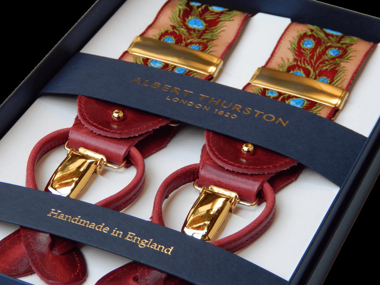 Promozione delle vendite rivenditore all'ingrosso grande sconto del 2019 Bretelle uomo inglesi Albert Thurston