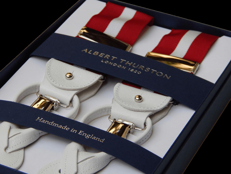 vestibilità classica abbigliamento sportivo ad alte prestazioni 100% qualità Bretelle uomo inglesi Albert Thurston