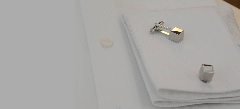 Gemelli da polso per camicia da uomo
