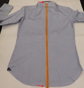 Lunghezza camicia su misura