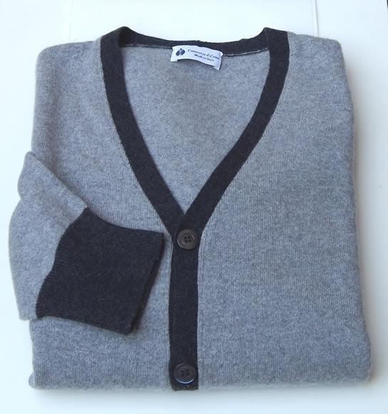 Particolare maglia in cashmere