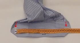 Larghezza polsini camicia