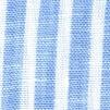 Lino, tessuto a strisce bianche e blu