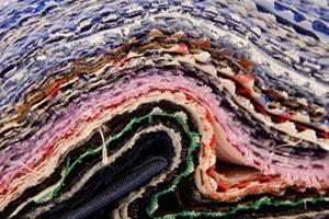Tessuto a righe in Lino Albini